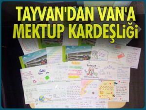 Tayvan'dan Van'a mektup