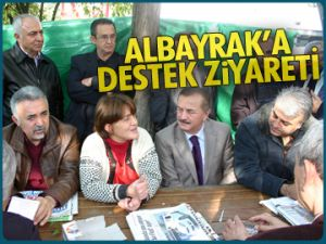 Türkan Albayrak'a destek ziyareti