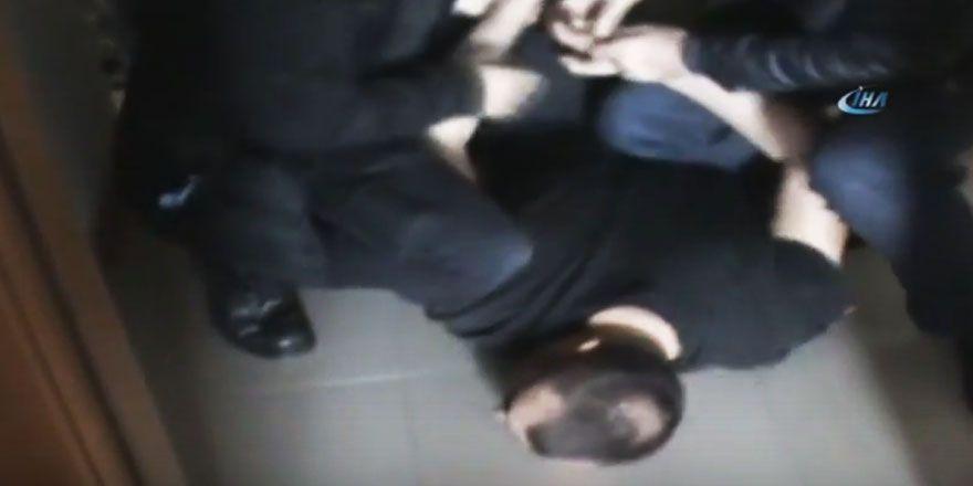 Sarıyer'de uyuşturucu operasyonu polis kamerasında
