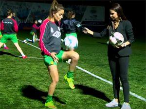 Kireçburnu Kadın Futbol Takımı TRT Spor'da